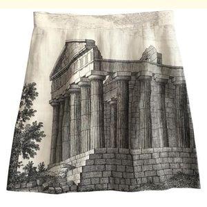 Dolce & Gabbana NWT Roman print skirt 10